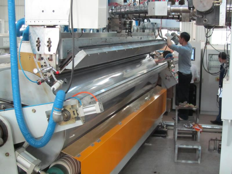 CPE Cast Film Production Line - Stretching film equipment ...